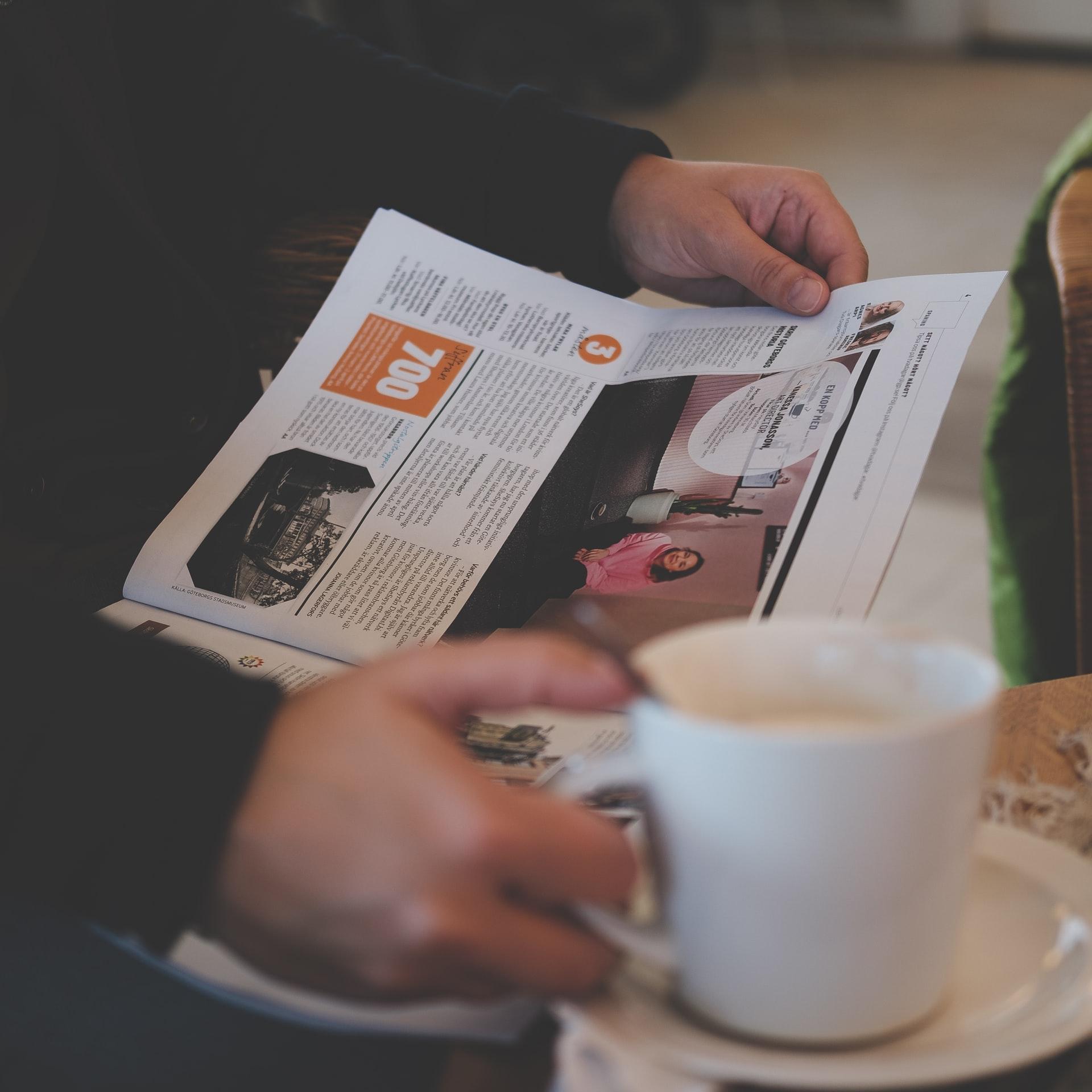 coffee-newspaper